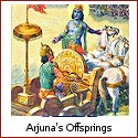 Arjuna and His Sons - Two Generations of Courage