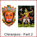 Hanuman, Vibhishana, Kripacharya, Parashurama - Chiranjivis - the Immortals of Hindu Mythology - Part 2