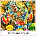 Karna and Arjuna - Valiant Brothers at War