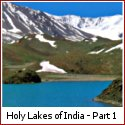 Holy Lakes of India - Narayan Sarovar | Nakki Lake | Prashar Lake | Pushkar Lake | Suraj Tal