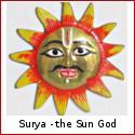 Surya  - The Sun God in Hindu Mythology