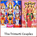 The Trimurti Couples in Hinduism