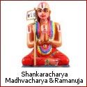 Adi Shankaracharya, Madhvacharya and Ramanuja - Pioneers of Vedantic Thought in Hinduism