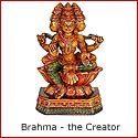 Brahma: the Creator Amongst the Hindu Trinity