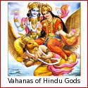 Vahanas - the Divine Animal Mounts of Hindu Gods