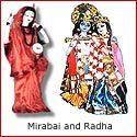 Mirabai and Radha: The twin souls of Krishna