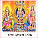 Ayyapan, Ganesha, Murugan - the Three Sons of Shiva
