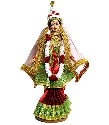 Bengali Bride - Customised Barbie Doll
