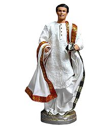 Devdas from Movie Devdas - Customised Barbie Doll