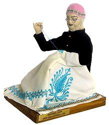 Kashmiri Shawl Maker