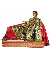 Paro from Movie Devdas - Customised Barbie Doll