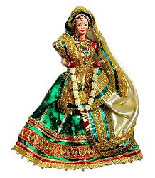 Rajasthani Bride - Customised Barbie Doll
