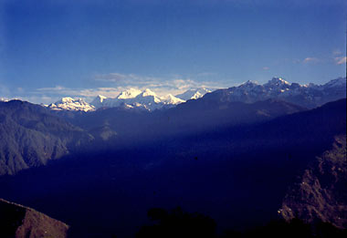 Himalayan View from Pelling