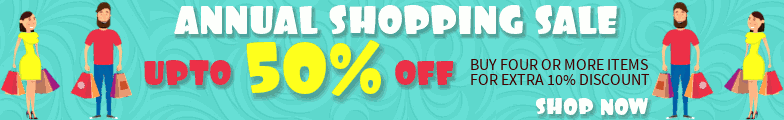Annual Shopping Sale - Upto 50% off