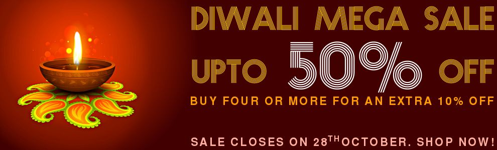 Diwali Mega Sale - Upto 50% off