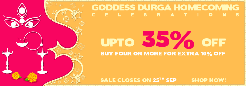 Durga Puja Sale - Upto 35% Off