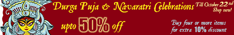 Durga Puja Celebration Sale - Upto 50% off