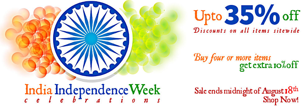 India Independence Week Sale - Upto 35% Off