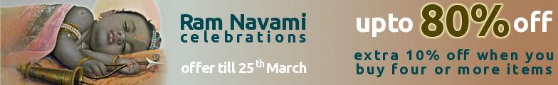 Upto 80% Off - Ram Navami Celebration Sale