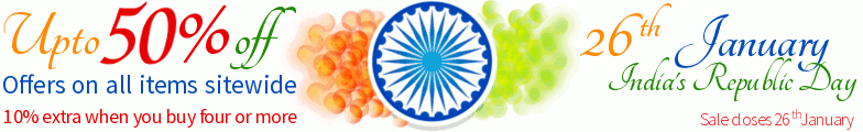 India Republic Day Sale - Upto 50% off