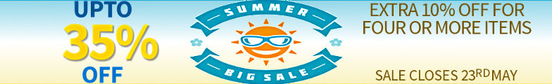 Summer 2017 Sale - Upto 35% Off