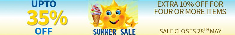 Upto 35% Off - Summer Sale
