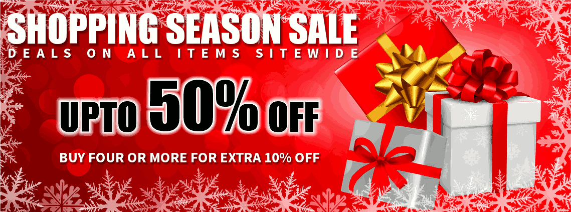 Upto 50% Off - Annual Shopping Sale