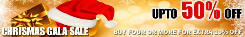 Christmas Gala Sale - Upto 50% Off