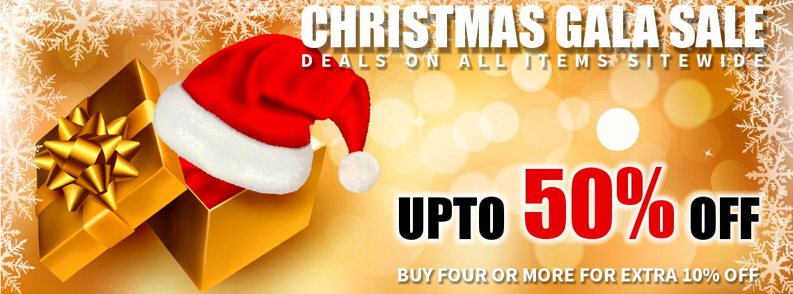 Christmas Gala Sale - Upto 50% Off
