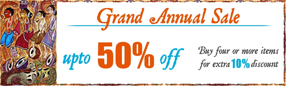 Annual Sale - Upto 50% off