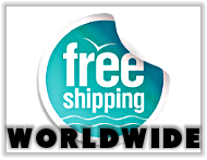 Free shipping to all destinations worldwide