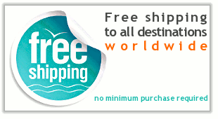 Free shipping worlwide