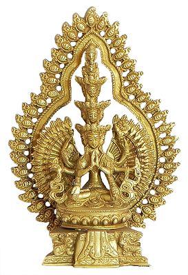 Brass Statue of Avalokiteshvara