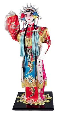 Chinese Opera Character Doll