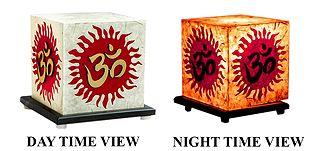 Arylic Lamp Shade with Om