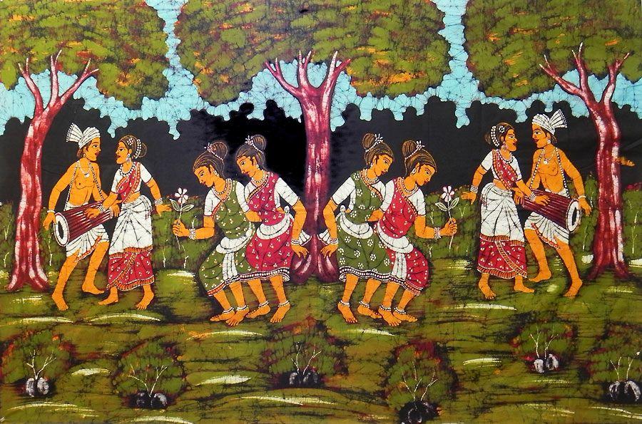 Santhal Dancers of India