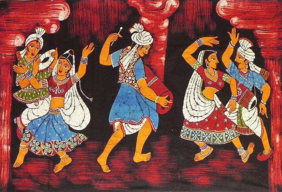 Rajasthani Folk Wall Paintings