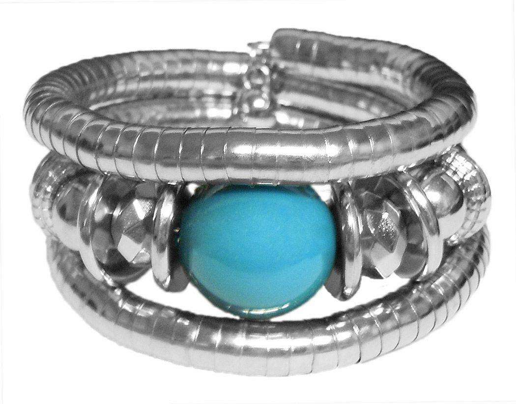 Metal Spring Bracelet