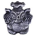 Pen Holder with Abstract Ganesha Face
