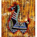 Decorative Horse - Batik Painting
