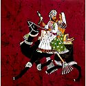 Batik Dhola Maru - Romantic Couple of Rajasthan