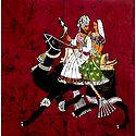Batik Dhola Maru - Romantic Couple of Rajasthan