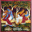 Radha Krishna and Gaurangadev Vishnupriya