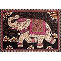 Royal Elephant - Printed Batik