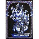 Lord Vinayak - Printed Batik