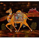 Royal Camel - Batik Painting