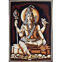 Lord Shiva - Batik Print