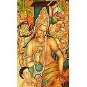 Ajanta Painting Reprint - Photographic Print