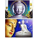Gautam Buddha - Set of 2 Posters