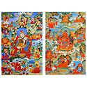Manifestations of Padmasambhava - Set of 2 Posters